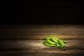 Organic sweet peas Royalty Free Stock Photo