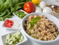 Organic Tabouleh Royalty Free Stock Photos