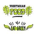 Organic and vegan logo labels