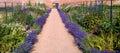 Organic Walled Garden Royalty Free Stock Photo