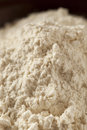 Organic whole wheat flour ready for baking Royalty Free Stock Image