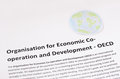 Organization for economic co operation and development oecd pic Stock Images
