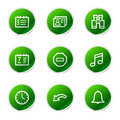 Organizer web icons Stock Photos