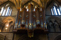 Organs in the cathredral in Worcester