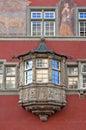 Oriel Window in Rococo style Royalty Free Stock Photo