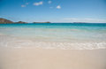 Orient beach on saint martin prestine sanit island Royalty Free Stock Photo
