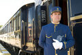 Orient Express Conductor Stock Photos