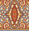 Orient seamless pattern vector various Royalty Free Stock Photo