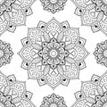 Oriental abstract ornament.