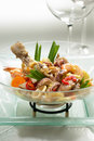 Oriental appetizer Royalty Free Stock Image