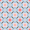 Oriental arabian geometrical decorative pattern