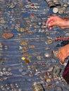Oriental bazaar objects - jewelry Royalty Free Stock Photo