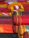 Oriental bazaar objects - ketene & jorap socks Royalty Free Stock Photo