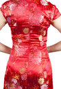 Oriental Cheongsam Royalty Free Stock Photo