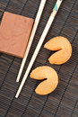 Oriental Cuisine Fortune Cookies Royalty Free Stock Photo