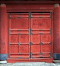 Oriental Doorway Stock Photo