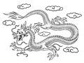 Oriental dragon Royalty Free Stock Photos