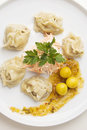 Oriental dumplings Royalty Free Stock Image
