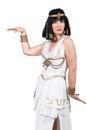 Oriental female dancer Royalty Free Stock Photo