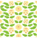 Oriental Flower Pattern Royalty Free Stock Photography