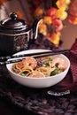 Oriental Food Royalty Free Stock Photo