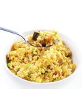 Oriental fried rice Stock Photo