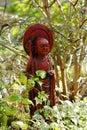 Oriental garden statue Stock Photo