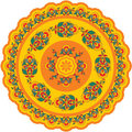 Oriental - Indian - Pattern Rosette Stock Photography