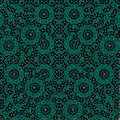 Oriental Ornate Seamless Pattern Mosaic