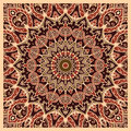 Oriental pattern for carpet.