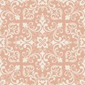 Oriental pattern with damask, arabesque and floral elements. Seamless abstract background