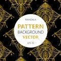 Oriental pattern, illustration. Islam, Arabic Indian turkish motifs