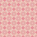 Oriental pattern red seamless Royalty Free Stock Image