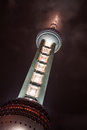 Oriental Pearl Tower Royalty Free Stock Photo