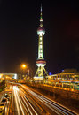 Oriental Pearl Tower, Shanghai Royalty Free Stock Photography