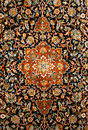 Oriental Persian Carpet Texture Stock Photo