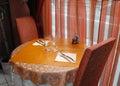Oriental restaurant. Royalty Free Stock Image