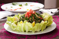 Oriental Salad Royalty Free Stock Photography