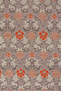 Oriental Silk Fabric Pattern Stock Photo