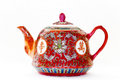 Oriental Tea Pot Isolated Stock Photography