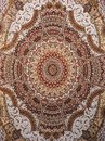 Oriental turkish-azerbaijan carpet. Royalty Free Stock Photo