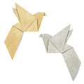 Origami Bird Royalty Free Stock Photography