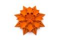 Origami Dahlia Flower Royalty Free Stock Photo