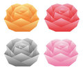 Origami _roses Stock Photography