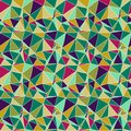 Origami seamless abstract background