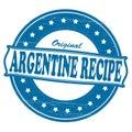 Original Argentine recipe Royalty Free Stock Photo