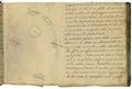 Original astronomy notebook page