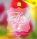 Original design easter set Royalty Free Stock Photos