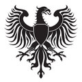 Original eagle crest Royalty Free Stock Image