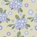 Original floral seamless pattern Stock Photography